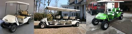 golf cart shuttle rentals central texas valet