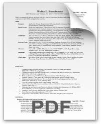 Best Software Developer Resume by Best Resume Format For Experienced Software Engineers Pdf