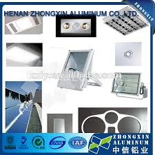 aluminium poli miroir conception spéciale chrome placage esthétique en aluminium poli