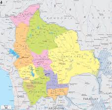 Political Map Of South America Detailed Clear Large Map Of Bolivia Ezilon Maps