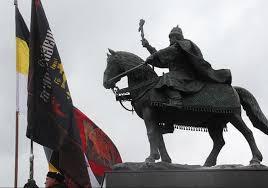 Где стоял памятник Ивану Грозному при Петре Первом?