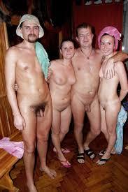 Голые в бане 