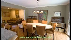 split level kitchen remodel youtube