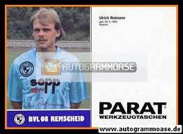 Autogramm Fussball | FC Remscheid [1987] | Ulrich REIMANN - 7744_1