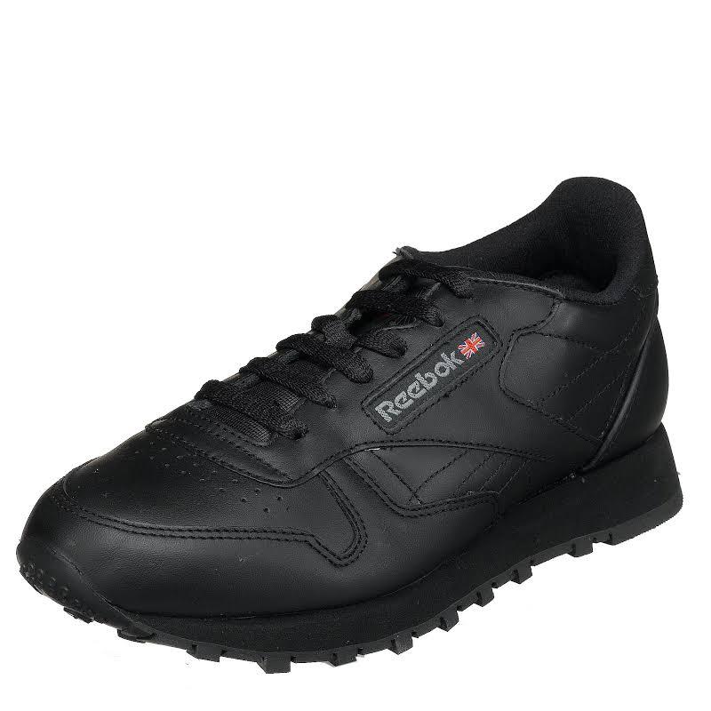 Reebok Classic Leather Black 1-5324 Women