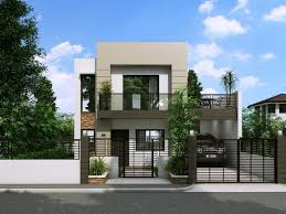 3 Bedroom House Designs Pictures Modern House Design Series Mhd 2014014 Pinoy Eplans Modern