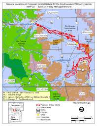Southwest Colorado Map by Southwest Region Arizona Es Field Office