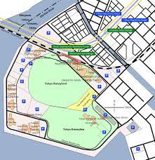 Map Of Downtown Disney Orlando by Tokyo Disney Resort Wikipedia