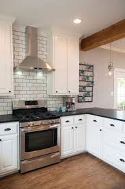 Kitchen Floor Tile Ideas With White Cabinets Best 25 Beveled Subway Tile Ideas On Pinterest White Subway
