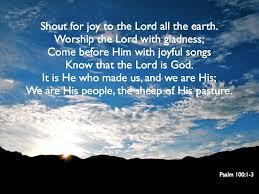 psalms of thanksgiving list psalm 100 yadah worship
