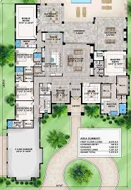 Split Level Ranch Floor Plans by Best 25 One Level House Plans Ideas On Pinterest One Level