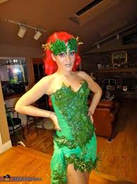 Poison Ivy Halloween Costume Kids Diy Poison Ivy Costume Idea Women Photo 3 4