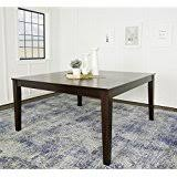 amazon com solid wood tables kitchen u0026 dining room furniture