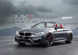 bmw series 4 with mk1 red label special edition alloy wheels gmp