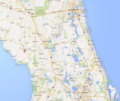 Avon Park Florida Map by Fritz Kleinhans Observing Locations