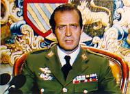 Juan Carlos el 23 de Febrero de 1981