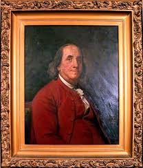 Portrait of Franklin by Joseph Siffred Duplessis  ca