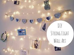 diy string lights for bedroom house design and office romantic