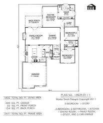 100 3 bedroom floor plans with garage 30 best contempo