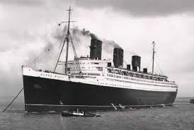 the R. M. S. Queen Mary: