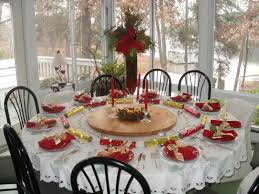 Decorating Ideas Dining Room Dining Room Elegant Christmas Banquet Decorating Ideas For Your