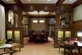 Craftsman Style Dining Room Furniture The Best Craftsman Style Home Interior Design Orchidlagoon Com