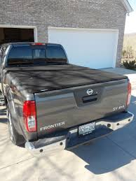 nissan frontier hard bed cover secure bed cover options that don u0027t get in the way nissan