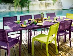 Fermobs Eco Outdoor Furniture Offers A Colorful Retreat Into - Colorful patio furniture