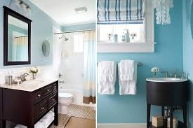 Colors For A Small Bathroom Bathroom Decorating In Blue Brown Colors Chocolate Inspiration