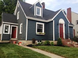 trendy victorian home ideas with blue exterior house color
