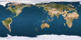 Peters Projection World Map by Flipped Mercator Map Science Pinterest