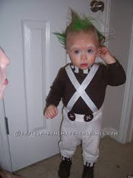 baby elephant costumes for halloween 1 year old easy oompa loompa costume oompa loompa costume