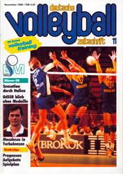 """Das sagte Italiens Trainer Julio Velasco nach dem ersten EM-Titel für die Azzurri. Die """"deutsche volleyball-zeitschrift"""" berichtete in ihrer ... - vm89_11_01"""