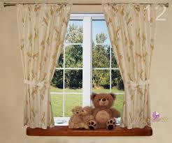 Luxury Nursery Bedding Sets by Junior Kids Baby Room Nursery Window Curtains Tape Pencil Pleat