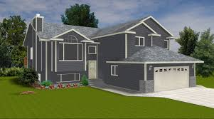 bi level house plans with attached garage webshoz com
