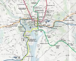 Washington Dc Usa Map by The Best U0026 Worst Subway Map Designs From Around The World