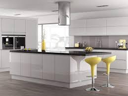 Handleless Kitchen Cabinets White Handleless Kitchen Designs Classic Interiors