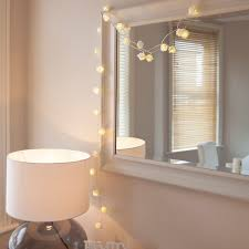 flower string lights for bedroom decorate my house