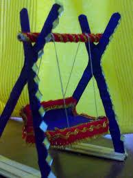 ice cream stick crafts activity u2013 ice cream stick craft u2013 swing