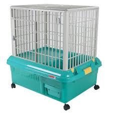 abc pet plaza plastic rabbit cage rp 750 green