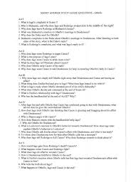 short answer study guide questions