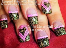 Robin Moses Nail Art by Robin Moses Nail Art Zebra Print Nails