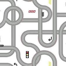 disney road roadway for cars on white sure strip wallpaper ds7663