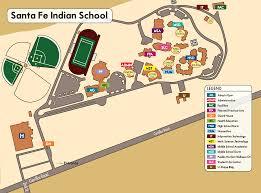 Unm Map Contact Us Santa Fe Indian