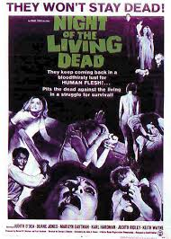 The Zombie Apocalypse Secularization Thesis   everything is fiction Night of the Living Dead affiche