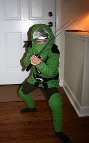 party city halloween ninja costumes my little guy u0027s homemade lego ninjago halloween costume green