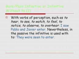 Gerunds and infinitives SlideShare
