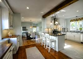 Large Open Kitchen Floor Plans by Impressive Kitchen And Dining Room Open Floor Plan Gallery 3169