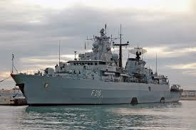 German frigate Schleswig-Holstein