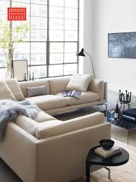 Como Corner Sectional Living Rooms Slipcover Sofa And - Design within reach sofas
